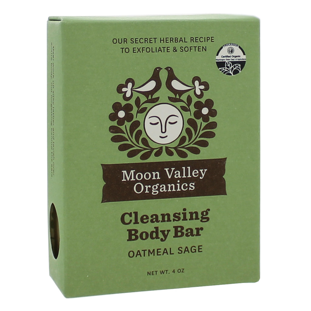 Cleansing Body Bar Oatmeal Sage