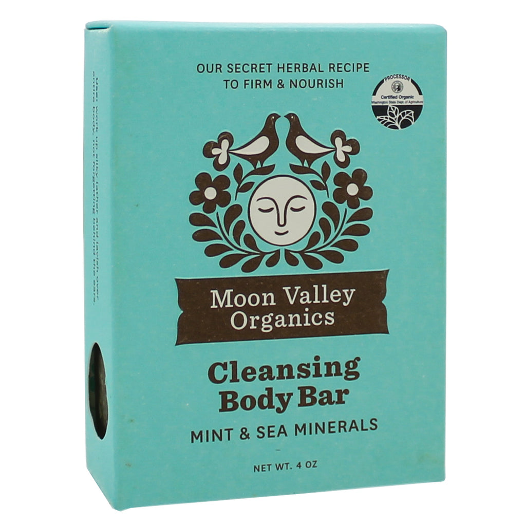 Cleansing Body Bar Mint Sea Mineral