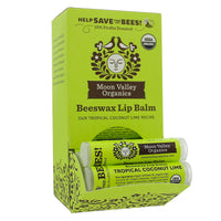 Beeswax Lip Balm Tropical Coconut Lime