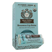 Beeswax Lip Balm Cool Mint Vanilla