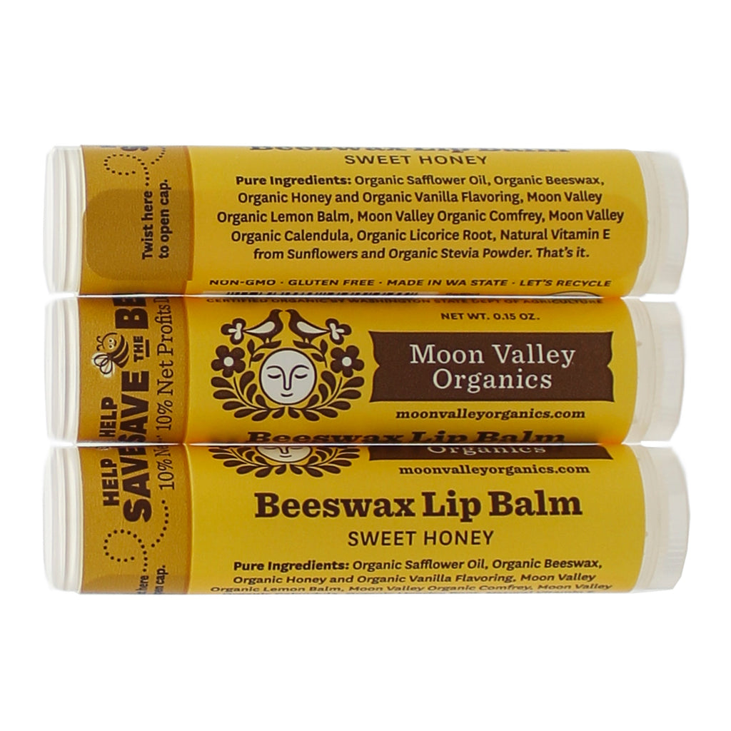 Beeswax Lip Balm Sweet Honey