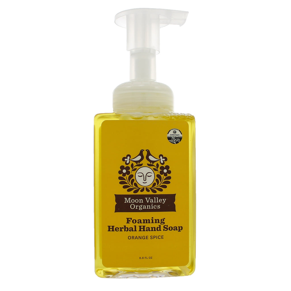 Orange Spice Herbal Hand Soap