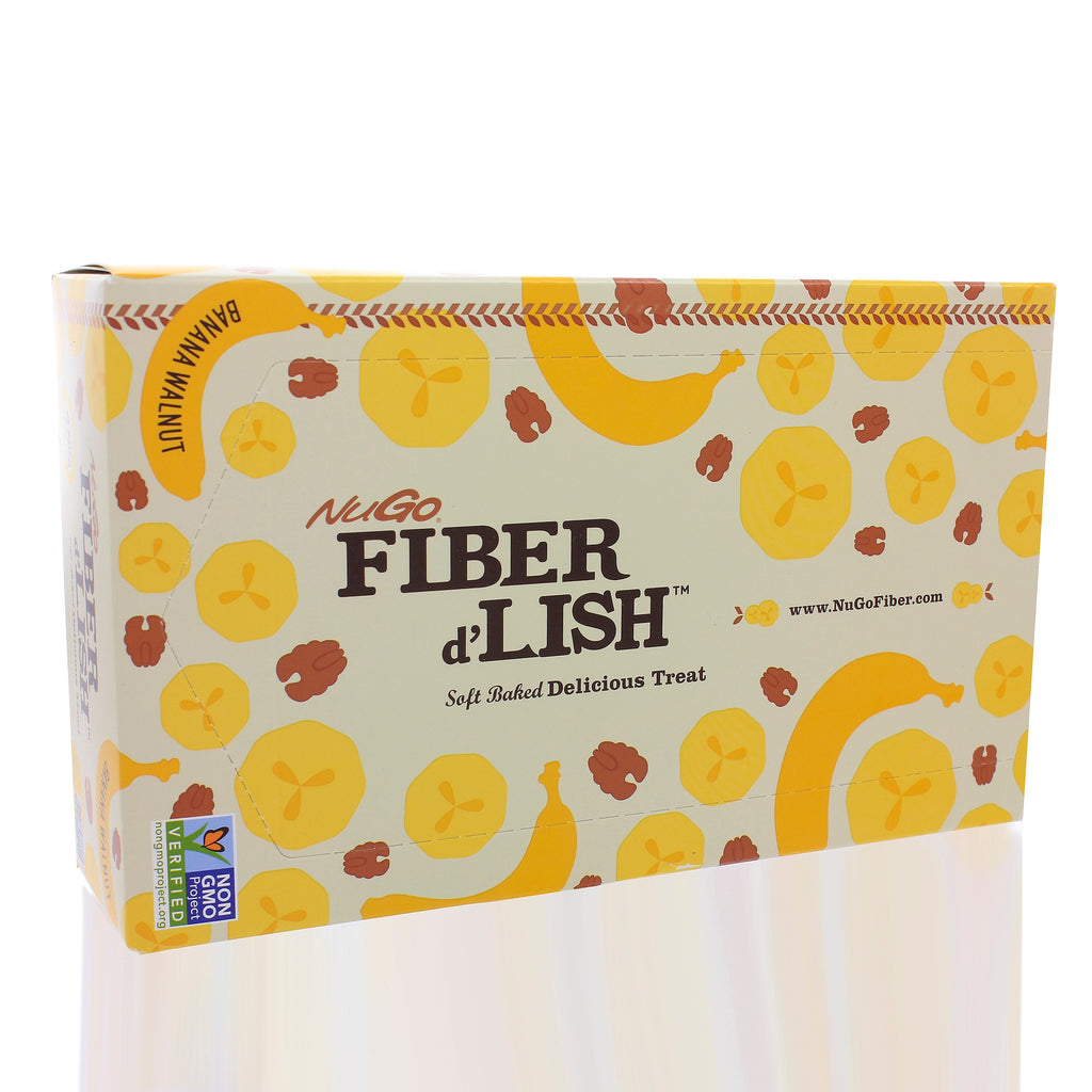 Fiber dLish Banana Walnut (case of 16 bars)