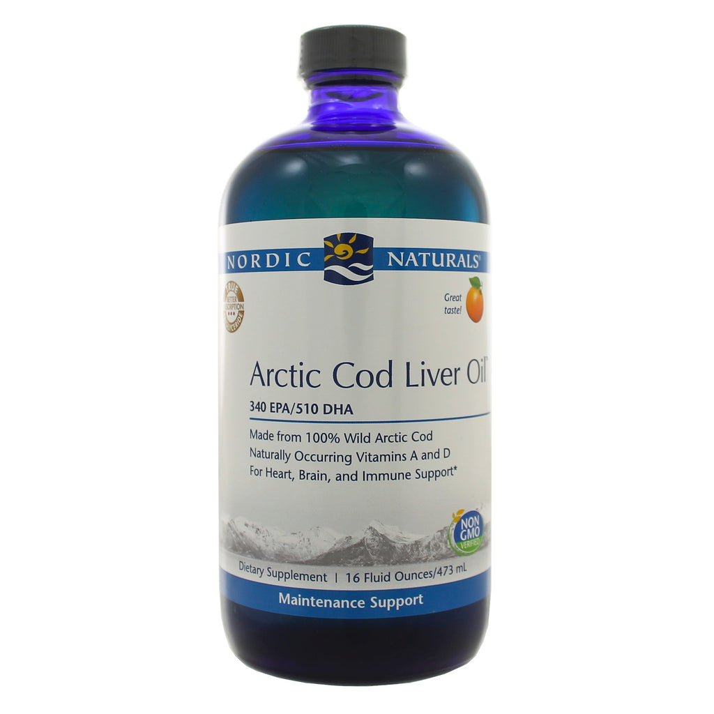 Arctic Cod Liver Oil Orange Liquid