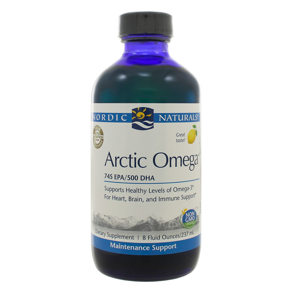 Arctic Omega Lemon Liquid