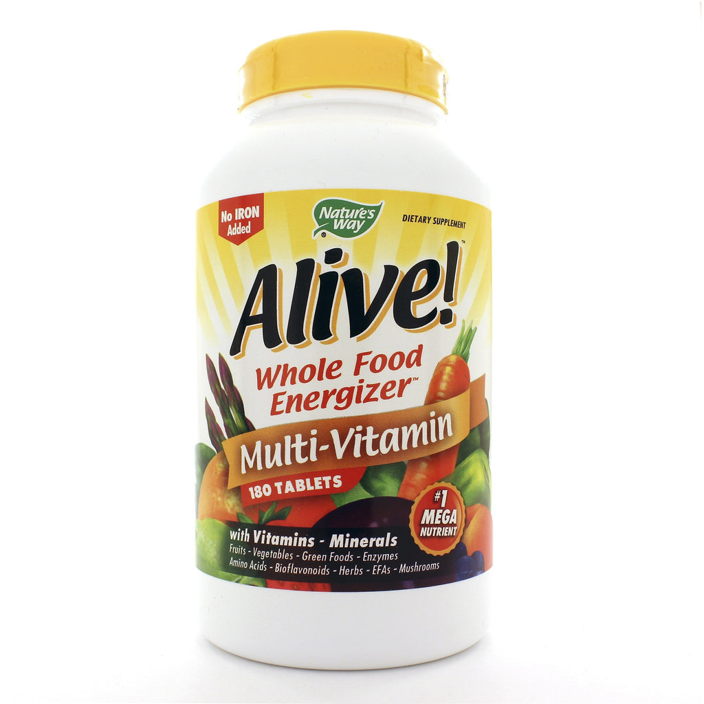 Alive! Multi-Vitamin (no iron added)