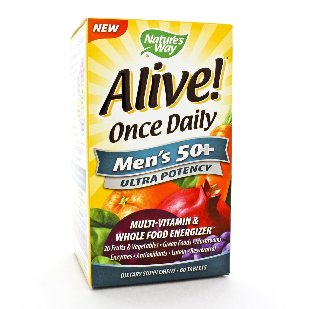 Alive! Once Daily Mens 50+ Multi (Ultra Potency)