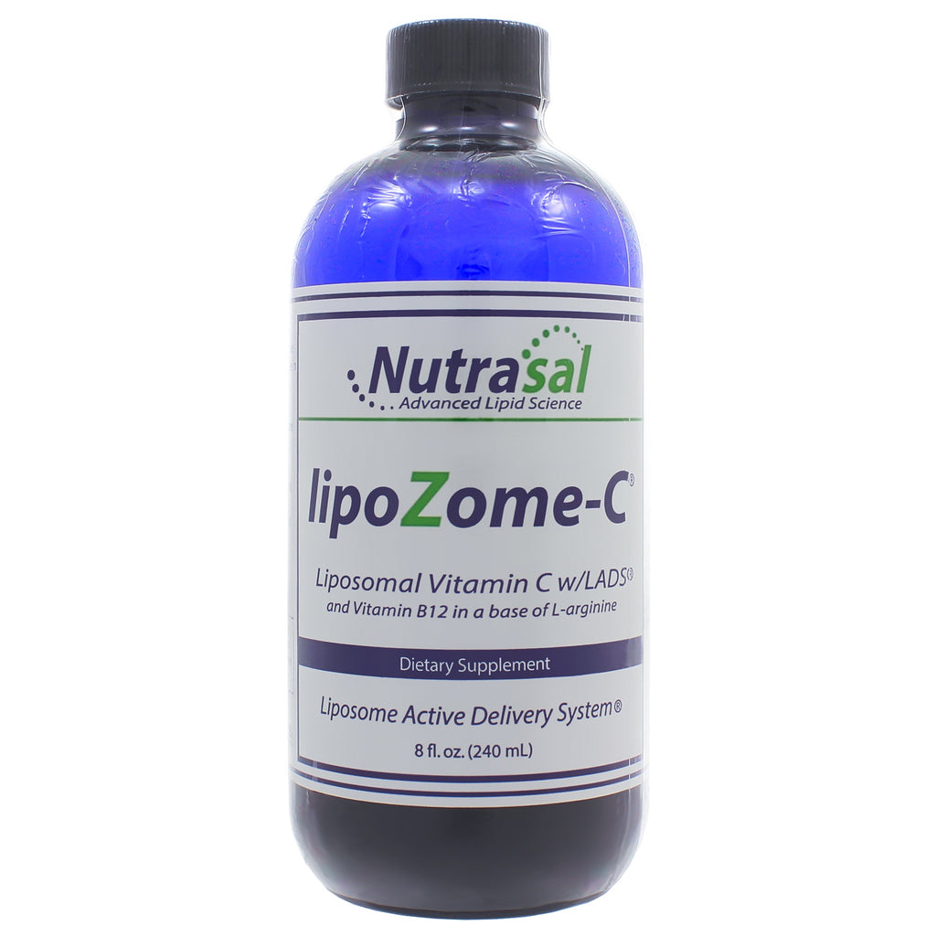 LipoZome C: Liposomal Vitamin C with B12 8oz