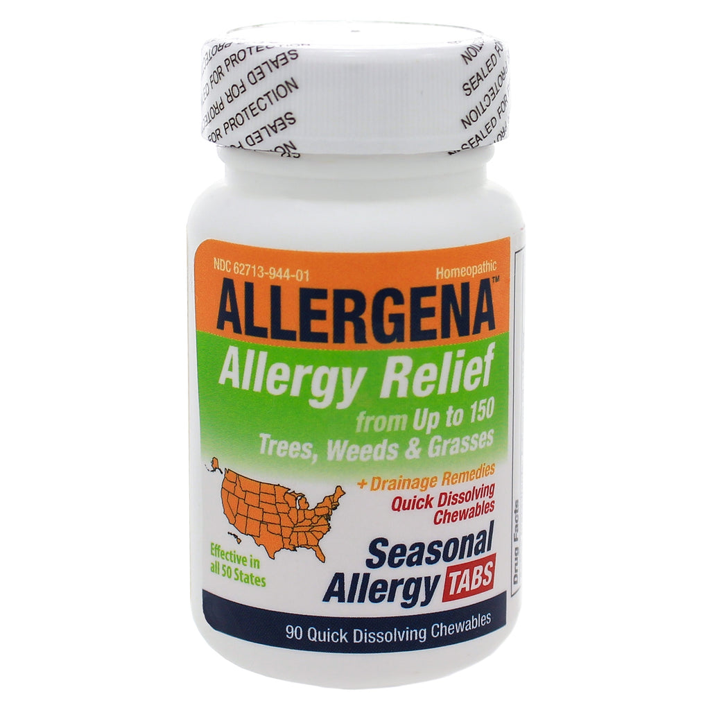 Allergena Seasonal Allergy Tabs