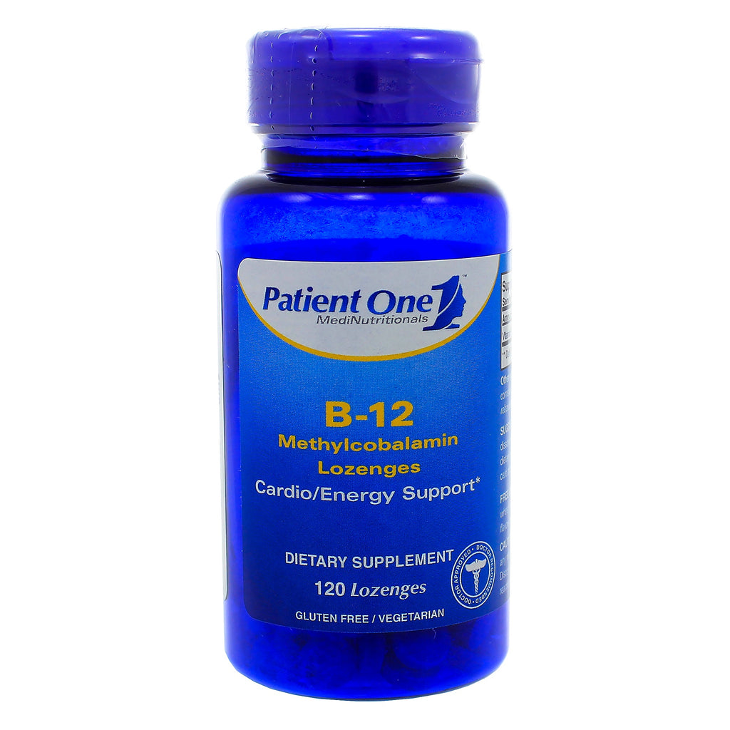 B-12 Methylcobalamin Lozenges (Fast Melt)