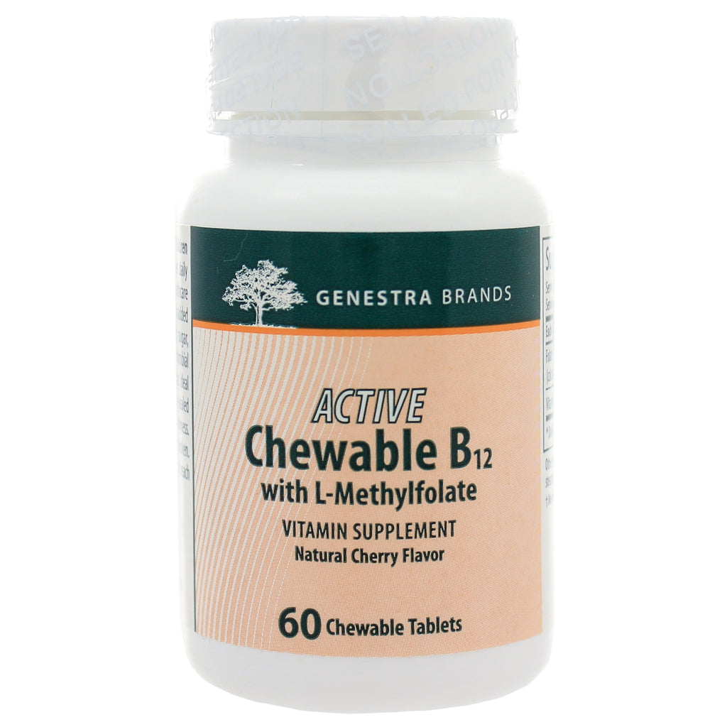 Active Chewable B12 w/L-Methylfolate
