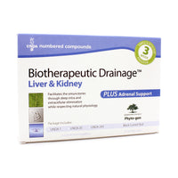 Biotherapeutic Drainage Liver and Kidney Plus adrenal