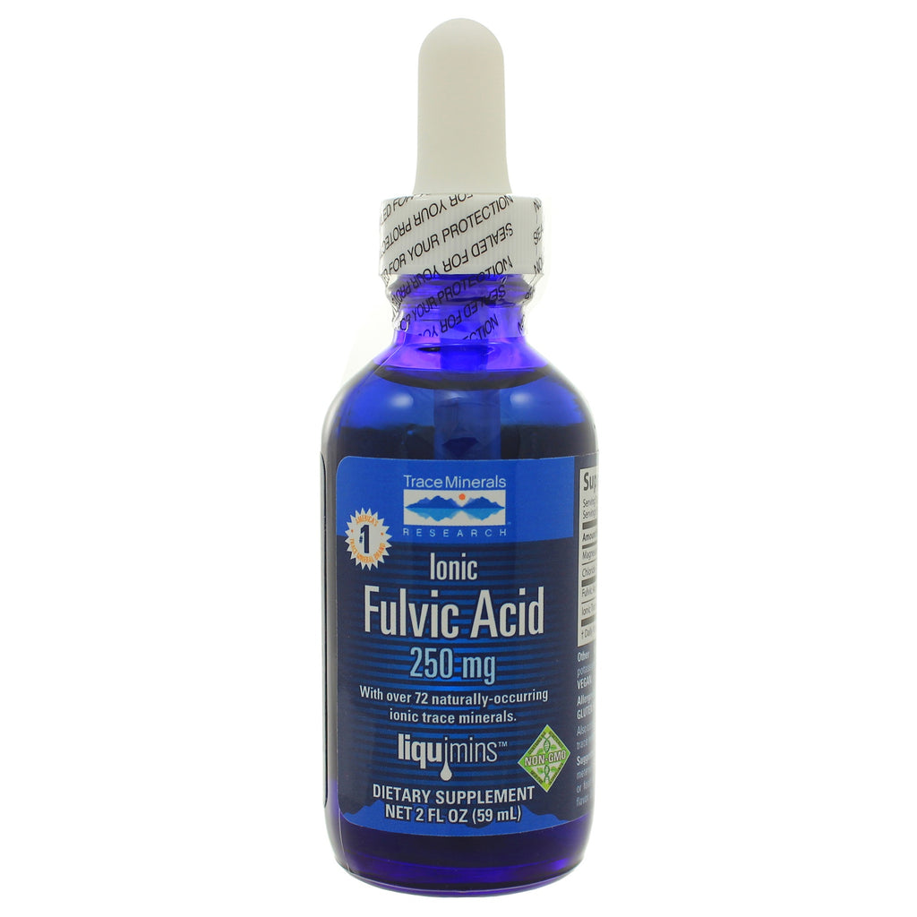 Liquid Ionic Fulvic Acid w/ Concentrace 250mg