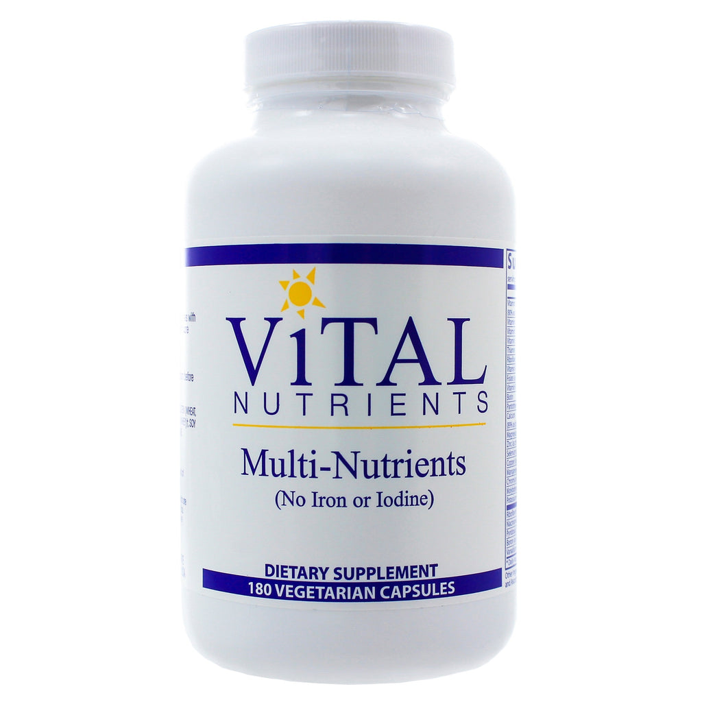 Multi-Nutrients no Iron or Iodine