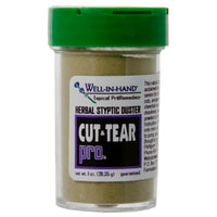 Cut and Tear Pro/Herbal Styptic Duster