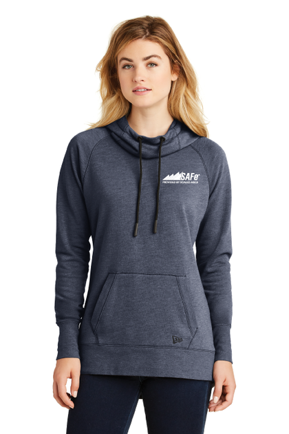Ladies Tri-Blend Fleece Hoodie