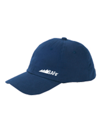 SAFe 6-Panel Brushed Twill Unstructured Cap