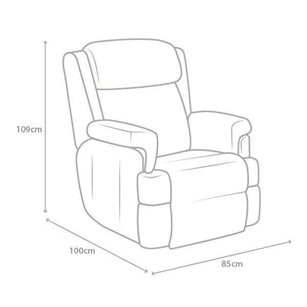sillon relax excelsior medidas