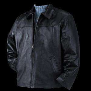 Bulletproof Leather Bullet Blocker Jacket