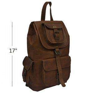 Bulletproof NIJ IIIA Leather Backpack