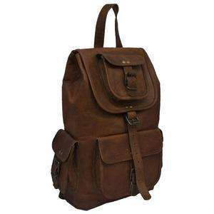 Bulletproof NIJ IIIA Leather Backpack-Bulletproof Backpack-Bullet Blocker®-kincorner.com