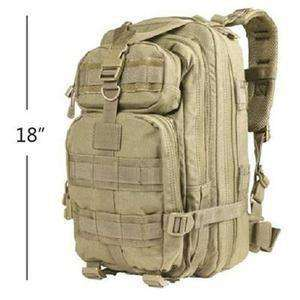 Bullet Blocker NIJ IIIA Jump Bulletproof Backpacks-Bulletproof Backpack-Bullet Blocker®-Tan-kincorner.com