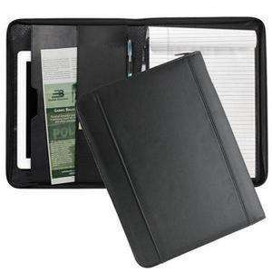 Bulletproof Defender Notebook Folio-Bulletproof Portfolio-Bullet Blocker®-Black-kincorner.com