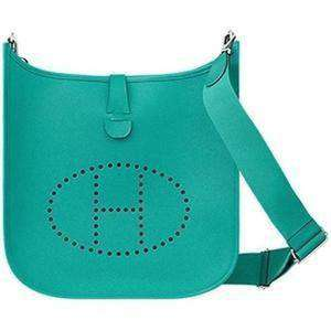Bulletproof Hermes Eveyne III33 Shoulder Bag-Bulletproof Bag-Bullet Blocker®-Bleu Atoll-kincorner.com