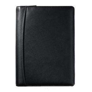 "Bulletproof Junior Leather Writing Padfolio 7"" x 9""-Bulletproof Padfolio-Bullet Blocker®-kincorner.com"