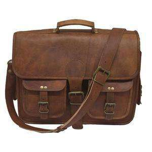 Leather Carryall Bulletproof Briefcase