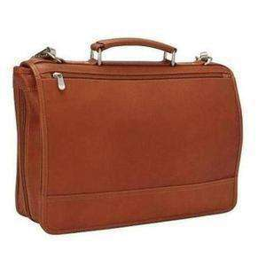 Bulletproof Leather Expandable Briefcase