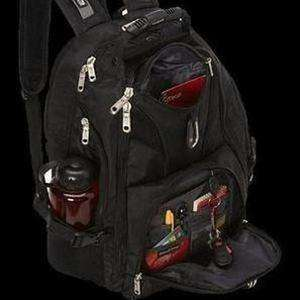 Bulletproof Backpack Premier Amped-Diamondback Armor-side black background-kincorner.com