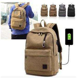 Bulletproof Backpack NIJ IIIA Canvas Classic