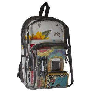 Clear bulletproof Backpack Bullet Blocker NIJ IIIA