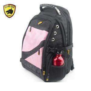 Guard Dog ProShield II Multimedia Bulletproof Backpack - Pink-side-kincorner.com