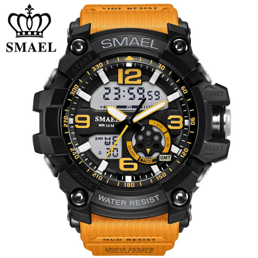 2017 Fashion Sport Men's Quartz Digital Watch Men G Style Waterproof Sports Military Watches Shock Mens Luxury Quartz Wristwatch - After Shopper