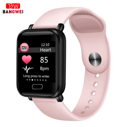 2019 New Women Smart watches Waterproof Sports For Iphone phone Smartwatch Heart Rate Monitor Blood Pressure Functions For kid - After Shopper