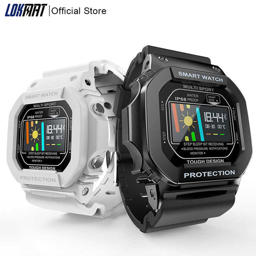 LOKMAT Bluetooth Smart Watch Men Waterproof IP68 - After Shopper