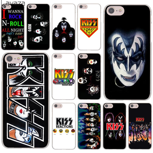 Lavaza Gene Simmons Kiss band Hard Cover Case for iPhone X XS Max XR 6 6S 7 8 Plus 5 5S SE 5C 4S 10 Phone Cases 7Plus 8Plus - After Shopper