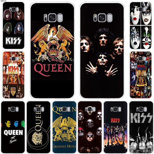Night KISS QUEEN Band logo SOFT TPU phone case for Samsung Galaxy S105G S10 S8 S9 plus S10lite Note 9 8 S7edge clear cases cover - After Shopper