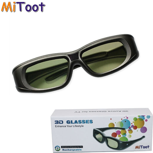 Mitoot Active 3D bluetooth RF Glasses Eyewear for Sony/Epson LCD 3D Projectors tw5200/tw8515/tw6510/tw3020/tw550/tw5300/TW5020UB - After Shopper