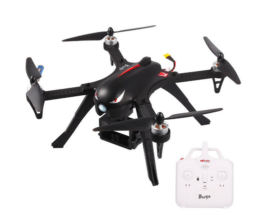 MJX B3 Bugs3 RC Drone, Brushless Moter Quadcopter, Independent ESC, Smart Transmitter Alarm , High Capacity Battery RTF Aircraft Black with Camera-Support GoPro Cameras and Sports Cameras - After Shopper