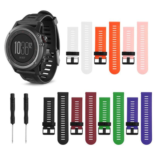 1Pcs Silicone Wrist Strap Bracelet Watch Band Replacement for Garmin Fenix3 Fenix3HR Fenix5 X Smart Watch Colorful Bands New - After Shopper
