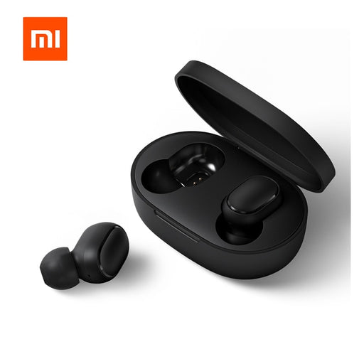 Original Xiaomi Redmi Airdots TWS Bluetooth Earphone Stereo Bass Bluetooth 5.0 Headphones With Mic Handsfree Earbuds AI Control - After Shopper