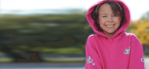 Be more visible and apply our reflective design on your children's favourite clothing