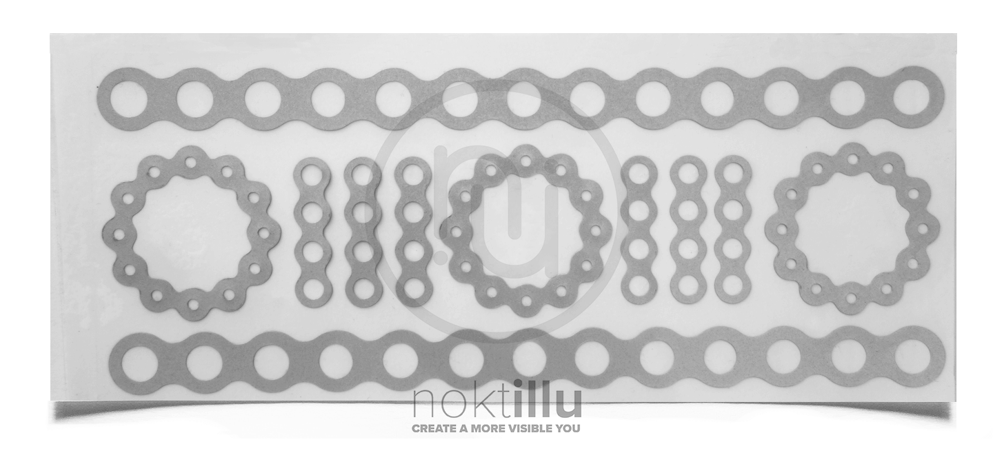 Bike Chain Reflective Design - Noktillu