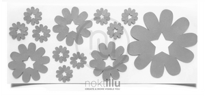 Star Flower - Noktillu - Reflective Design - High Visibility - 3M™ Scotchlite™ Reflective Material