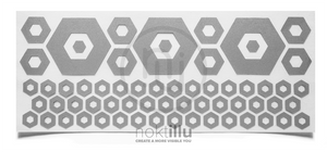 Hexagon Reflective Design - Noktillu