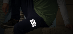 Union Jack - Noktillu - Reflective Decal - High Visibility - 3M™ Scotchlite™ Reflective Material