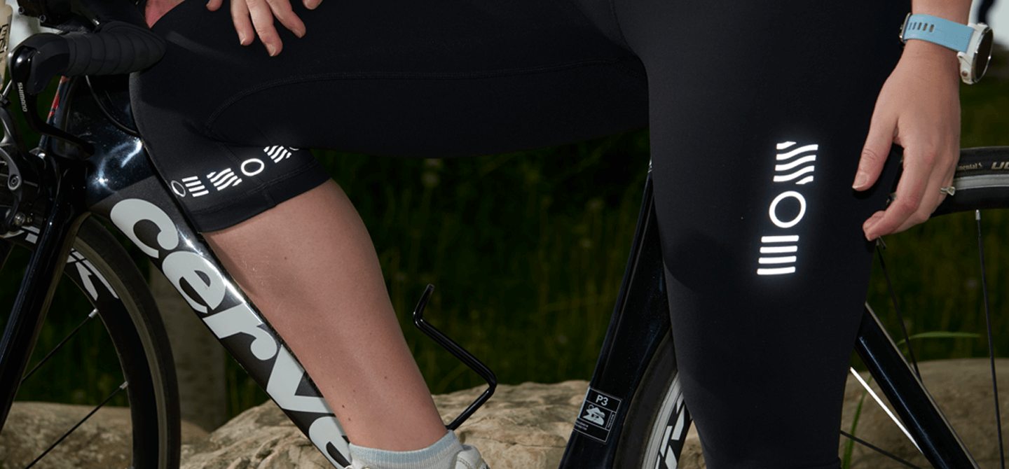 Triathlon Reflective designs for your athletic gear from Noktillu